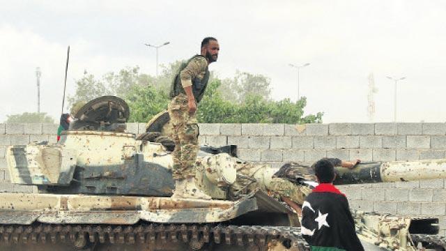 Libya'da UMH birlikleri, Mitiga Havaalanı çevresinde kontrolü sağladı