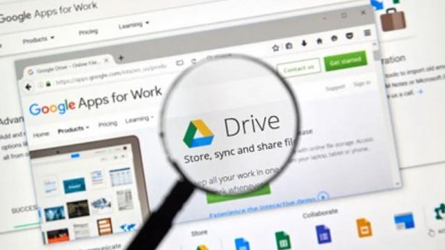 Google Drive'a Touch ID ve Face ID desteği