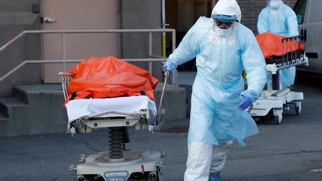 ABD'de korkunç bilanço: Ölü sayısı 70 bine yaklaştı