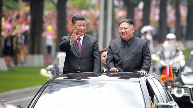 Kuzey Kore liderinden Çin'e tebrik