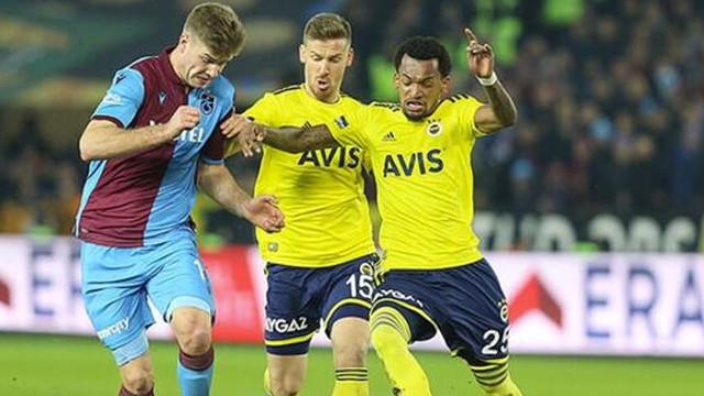 Fenerbahçe Trabzonspor maçının ilk 11'leri belli oldu