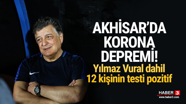 Akhisarspor'da 12 kişide koronavirüs çıktı!