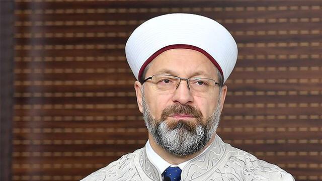 Diyanet İşleri Başkanı Erbaş'tan ''kurban'' açıklaması