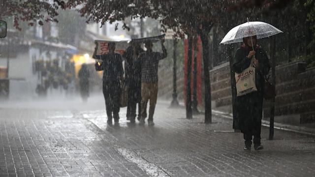 Meteoroloji yeniden uyardı! Yağışlar ne kadar daha sürecek ?