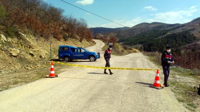 Konya'da iki mahalle karantinada