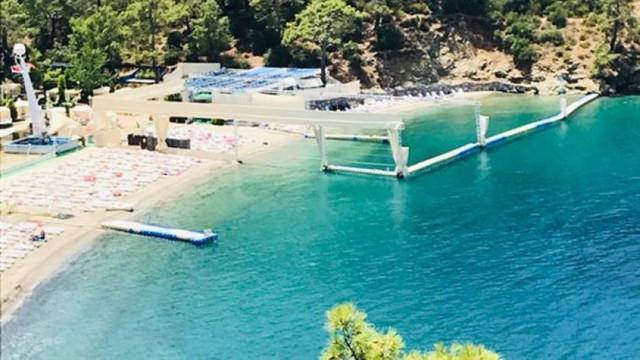 Fethiye'de harem-selamlık plaj