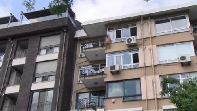 İstanbul'da genç kadın çırılçıplak intihar etti!