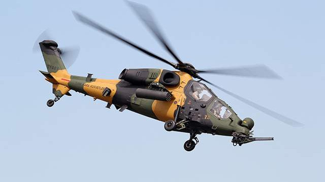 57'nci ATAK helikopteri teslim edildi