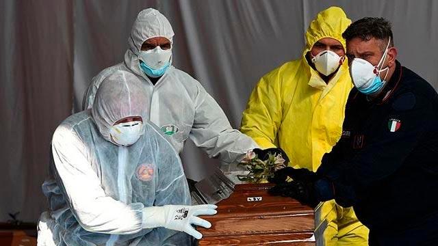 İtalya'da koronavirüsten ölenlerin sayısı 34 bin 708'e yükseldi