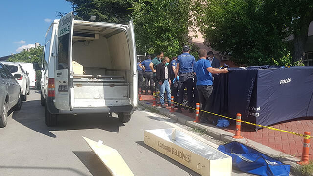 Ankara'da sokak ortasında dehşet! Moldovalı kadın öldürüldü