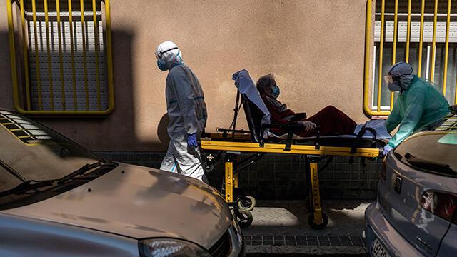 İspanya'da koronavirüsten ölenlerin sayısı 27 bin 134'e yükseldi