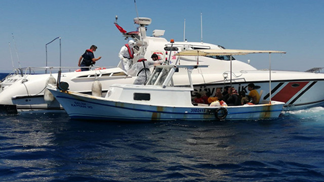 Yunanistan tarafından Türk kara sularına itilen 58 sığınmacı kurtarıldı