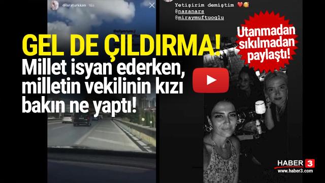 İYİ Partili vekilin kızından skandal paylaşım