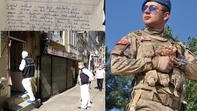 Uzman onbaşı, not bırakıp intihar etti