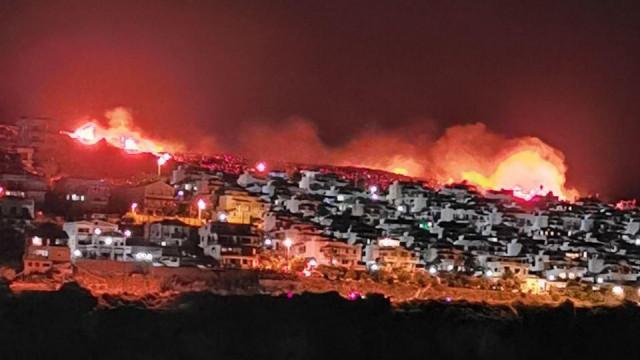 İzmir'de büyük yangın!