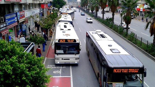 15 Temmuz'da Antalya'da toplu taşıma araçları ücretsiz!