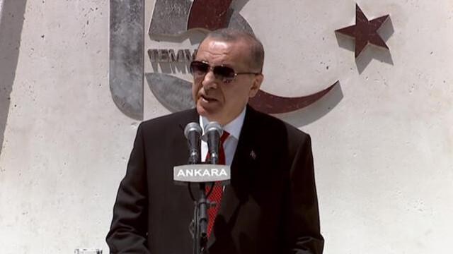 Erdoğan Gazi Meclis'te konuştu: ''Güçleri yetseydi...''