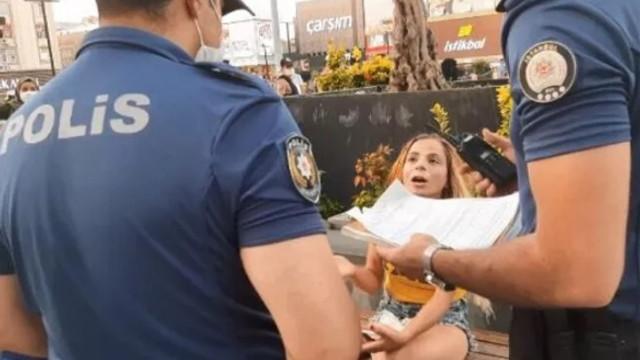 İstanbul'da polisin uyarılarını dinlemedi, cezayı yedi!