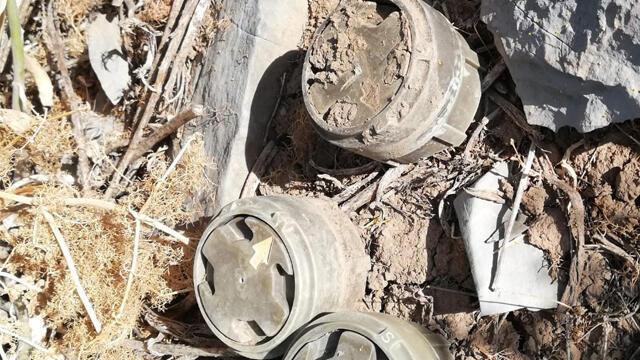 MSB: 3 anti personel mayını imha edildi