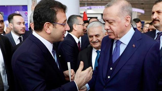 Erdoğan ile İmamoğlu arasında ''çok özel'' görüşme