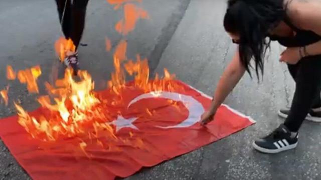 MSB'den Türk bayrağı yakılmasına çok sert tepki