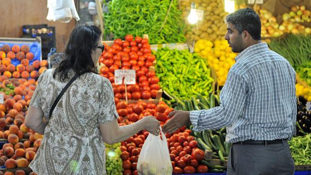 Ankara'da gıda fiyatları yüzde 1 geriledi