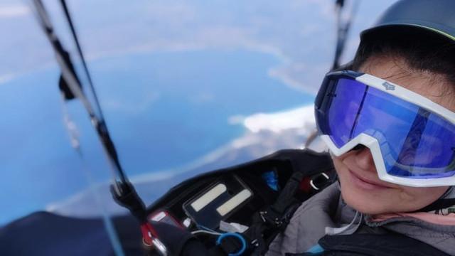 Yamaç paraşütüyle tam 239 kilometre uçtu!