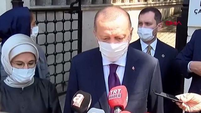 Erdoğan'dan bayramda ''tedbir'' açıklaması