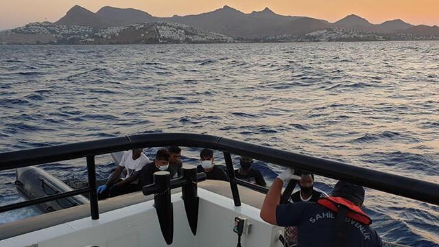 6 sığınmacı Türk Sahil Güvenlik tarafından kurtarıldı