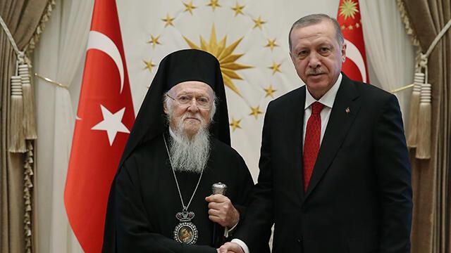 Fener Rum Patriği'nden Erdoğan'a Sümela Manastırı için teşekkür telefonu