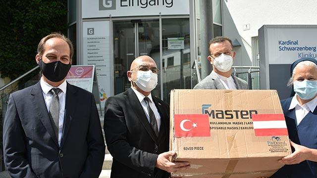 Türkiye'den bir ülkeye daha korona yardımı