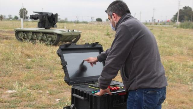 Türkiye'nin ''İnsansız mini tank''ı seri üretime geçiyor