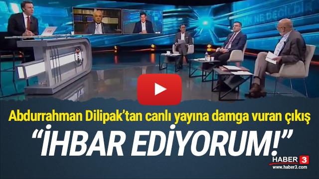 Dilipak canlı yayında AK Parti'ye seslendi:
