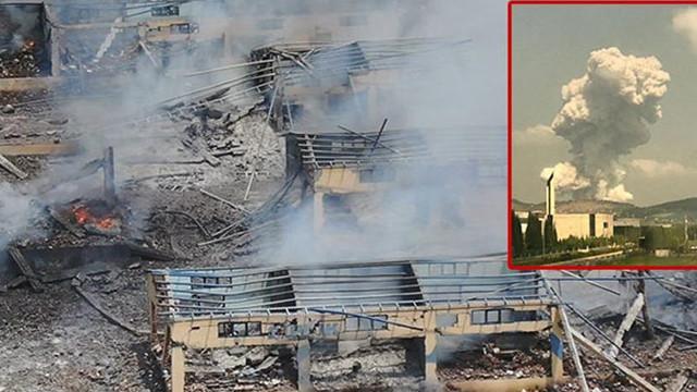 Patlama yaşanan fabrikayla ilgili şoke eden gerçekler! Daha öncede yaşanmış