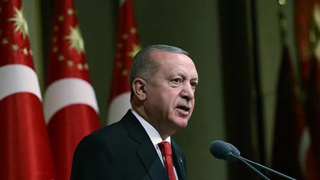 Erdoğan'dan ''Ayasofyalı'' Kurban Bayramı mesajı