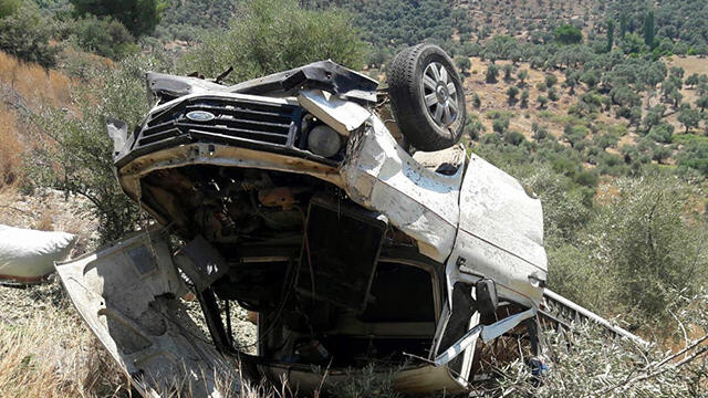 Muğla'da kamyonet kazası: 2'si çocuk 5 yaralı