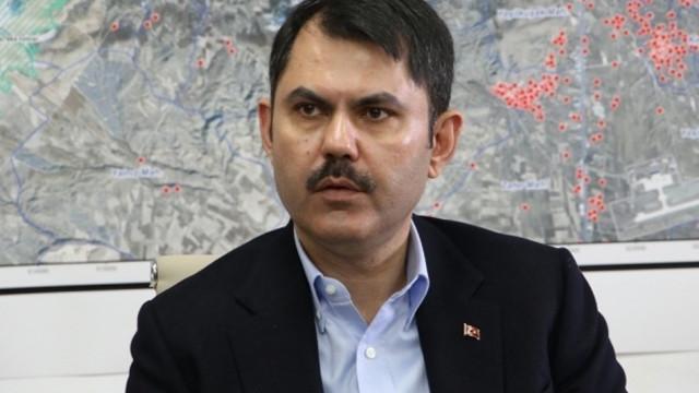 Bakan Kurum: ''Su kaynaklarımız kuruma tehlikesiyle karşı karşıya''