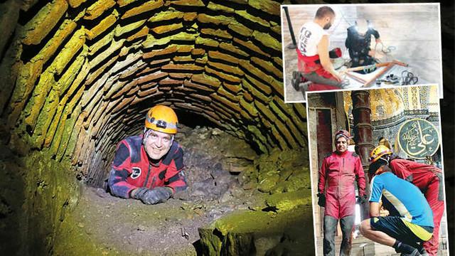 Ayasofya'da yeraltı menfezlerindeki sır ortaya çıkarıldı