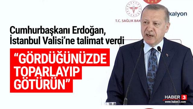 Erdoğan asker eğlenceleri için talimat verdi: Toparlayıp götürün