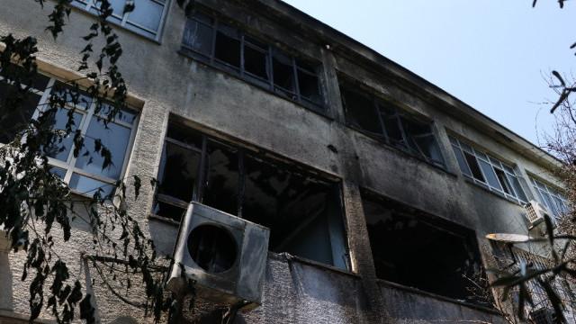 Dezenfektan üretilen okulda patlama: Yaralılar var