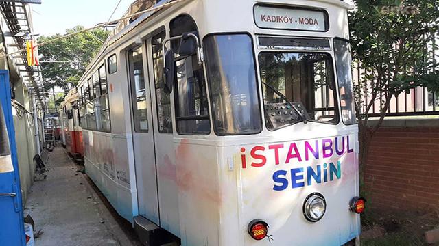 İBB Kadıköy-Moda tramvayını yeniledi