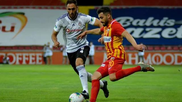 Kartal yara aldı: Kayserispor-Beşiktaş: 3-1