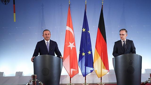 Dışişleri Bakanı Mevlüt Çavuşoğlu, Almanya Dışişleri Bakanı ile görüştü