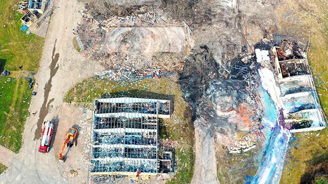 Sakarya'daki patlamayla ilgili arama çalışmalarına ara verildi