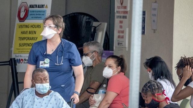 ABD'de hastane krizi! 48 hastanenin yoğun bakım servisinde yer kalmadı