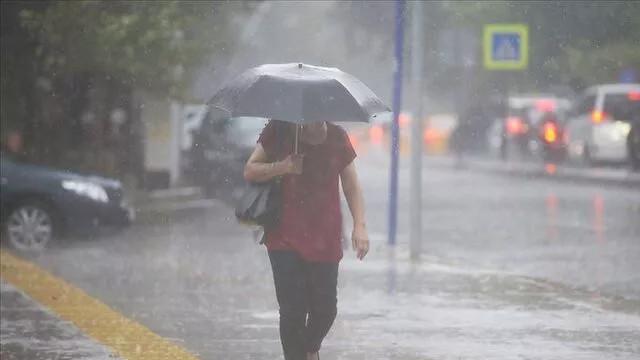 Meteoroloji'den sağanak yağış uyarısı! İşte 5 günlük hava durumu