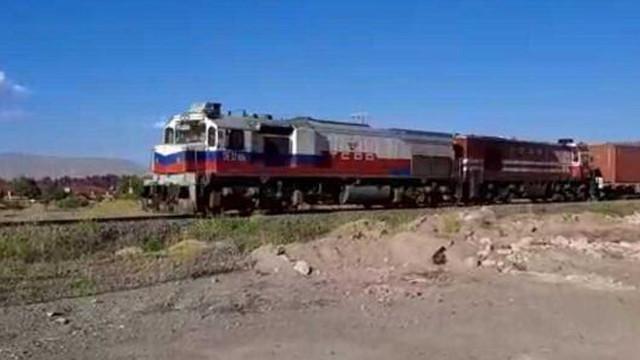Çin'den yola çıkan 1056 metrelik tren, Türkiye'ye ulaştı