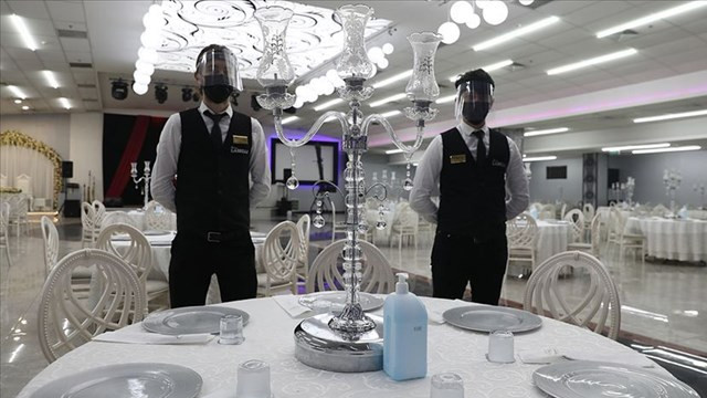 O ilçede düğün, sünnet, nişan organizasyonları yasaklandı