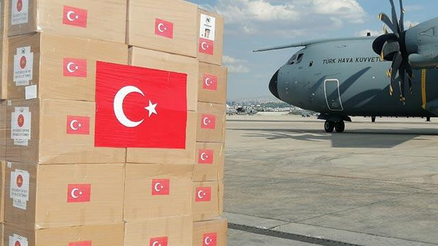 MSB duyurdu: Lübnan'a ikinci tıbbi yardım uçağı yolda