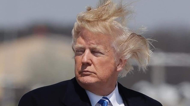 Trump'ın saçları için yasa değiştiriliyor